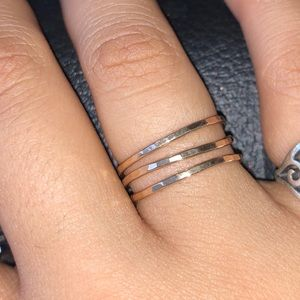 Delicate Forged Rings